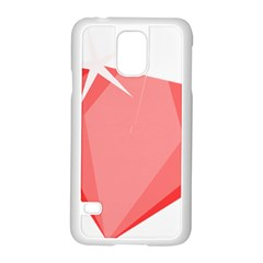 Ruby Samsung Galaxy S5 Case (White)
