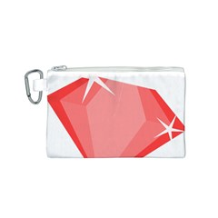 Ruby Canvas Cosmetic Bag (S)