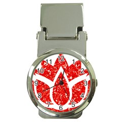 Ruby Lotus Money Clip Watches