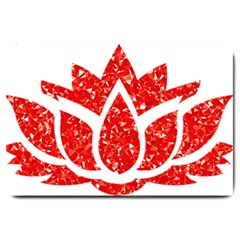 Ruby Lotus Large Doormat