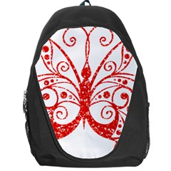 Ruby Butterfly Backpack Bag