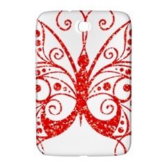 Ruby Butterfly Samsung Galaxy Note 8.0 N5100 Hardshell Case