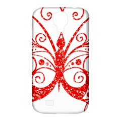 Ruby Butterfly Samsung Galaxy S4 Classic Hardshell Case (PC+Silicone)