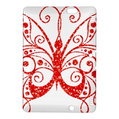 Ruby Butterfly Kindle Fire HDX 8.9  Hardshell Case