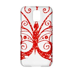 Ruby Butterfly Samsung Galaxy S5 Hardshell Case