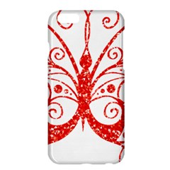 Ruby Butterfly Apple iPhone 6 Plus/6S Plus Hardshell Case