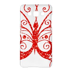Ruby Butterfly Samsung Galaxy A5 Hardshell Case