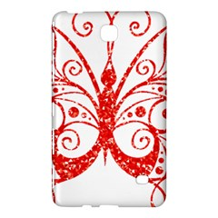 Ruby Butterfly Samsung Galaxy Tab 4 (8 ) Hardshell Case