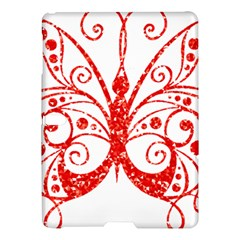 Ruby Butterfly Samsung Galaxy Tab S (10.5 ) Hardshell Case