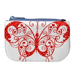 Ruby Butterfly Large Coin Purse