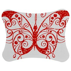 Ruby Butterfly Jigsaw Puzzle Photo Stand (Bow)