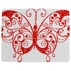Ruby Butterfly Jigsaw Puzzle Photo Stand (Rectangular)