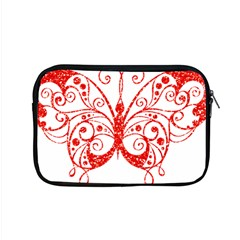 Ruby Butterfly Apple MacBook Pro 15  Zipper Case