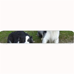 2 Border Collies Small Bar Mats