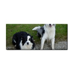 2 Border Collies Cosmetic Storage Cases