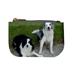 2 Border Collies Mini Coin Purses