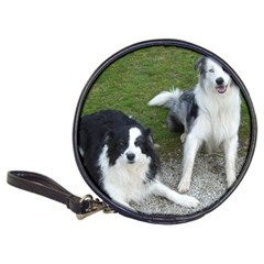 2 Border Collies Classic 20-CD Wallets