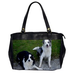 2 Border Collies Office Handbags