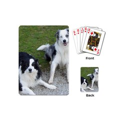 2 Border Collies Playing Cards (Mini)