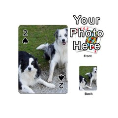 2 Border Collies Playing Cards 54 (Mini)