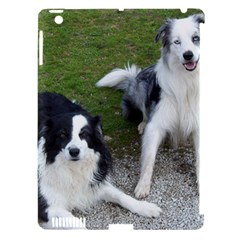 2 Border Collies Apple iPad 3/4 Hardshell Case (Compatible with Smart Cover)