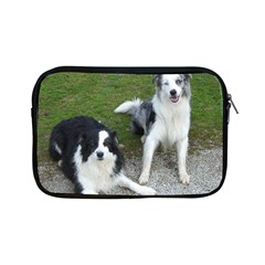2 Border Collies Apple iPad Mini Zipper Cases