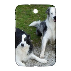 2 Border Collies Samsung Galaxy Note 8.0 N5100 Hardshell Case