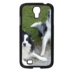 2 Border Collies Samsung Galaxy S4 I9500/ I9505 Case (Black)