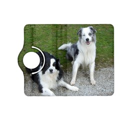 2 Border Collies Kindle Fire HD (2013) Flip 360 Case