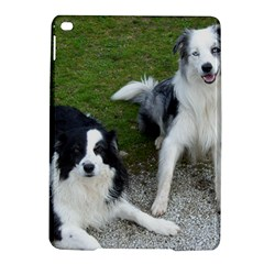 2 Border Collies iPad Air 2 Hardshell Cases