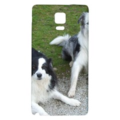 2 Border Collies Galaxy Note 4 Back Case