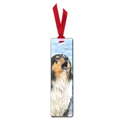 Black Tri Border Collie Wet Small Book Marks