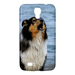 Black Tri Border Collie Wet Samsung Galaxy Mega 6.3  I9200 Hardshell Case