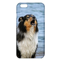 Black Tri Border Collie Wet iPhone 6 Plus/6S Plus TPU Case