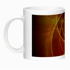 The Rusty Red Fractal Scarab of Fiery Old Man Ra Night Luminous Mugs
