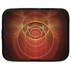 The Rusty Red Fractal Scarab of Fiery Old Man Ra Netbook Case (XL)