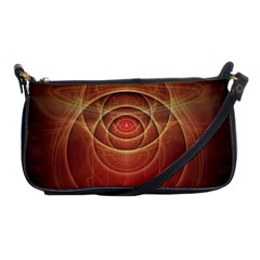 The Rusty Red Fractal Scarab of Fiery Old Man Ra Shoulder Clutch Bags