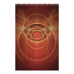 The Rusty Red Fractal Scarab of Fiery Old Man Ra Shower Curtain 48  x 72  (Small)