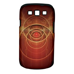 The Rusty Red Fractal Scarab of Fiery Old Man Ra Samsung Galaxy S III Classic Hardshell Case (PC+Silicone)