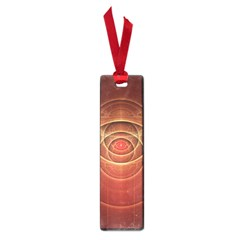 The Rusty Red Fractal Scarab of Fiery Old Man Ra Small Book Marks