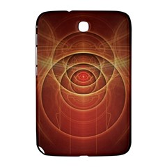 The Rusty Red Fractal Scarab of Fiery Old Man Ra Samsung Galaxy Note 8.0 N5100 Hardshell Case