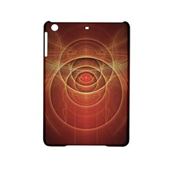 The Rusty Red Fractal Scarab of Fiery Old Man Ra iPad Mini 2 Hardshell Cases