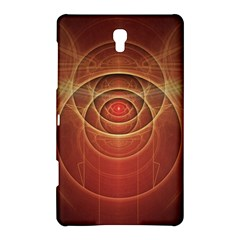 The Rusty Red Fractal Scarab of Fiery Old Man Ra Samsung Galaxy Tab S (8.4 ) Hardshell Case