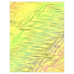 Paint On A Yellow Background                        Large Drawstring Bag