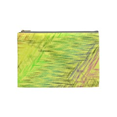 Paint on a yellow background                        Cosmetic Bag