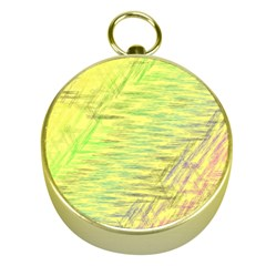 Paint on a yellow background                        Gold Compass