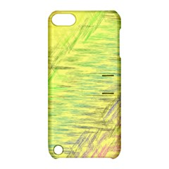 Paint On A Yellow Background                  Apple Iphone 5 Hardshell Case With Stand