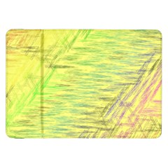 Paint on a yellow background                  Samsung Galaxy Tab 10.1  P7500 Flip Case