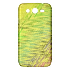 Paint on a yellow background                  Samsung Galaxy Duos I8262 Hardshell Case