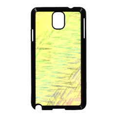 Paint on a yellow background                  Samsung Galaxy S5 Back Case (White)